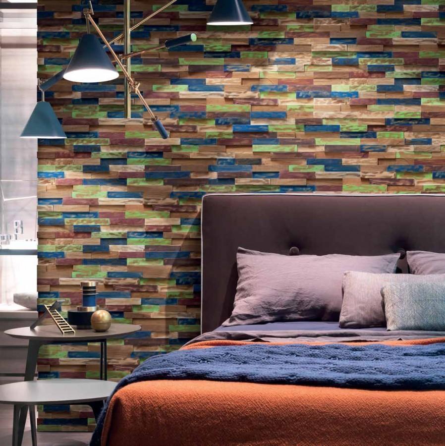 parement bois 4 angles. Black Bedroom Furniture Sets. Home Design Ideas